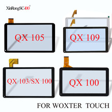 Voor WOXTER QX 100/103/105/109/120/82/78/85/N100/N200 SX 100 QX105 QX109 QX103 QX82 Tablet touchscreen Digitizer Glas(China)