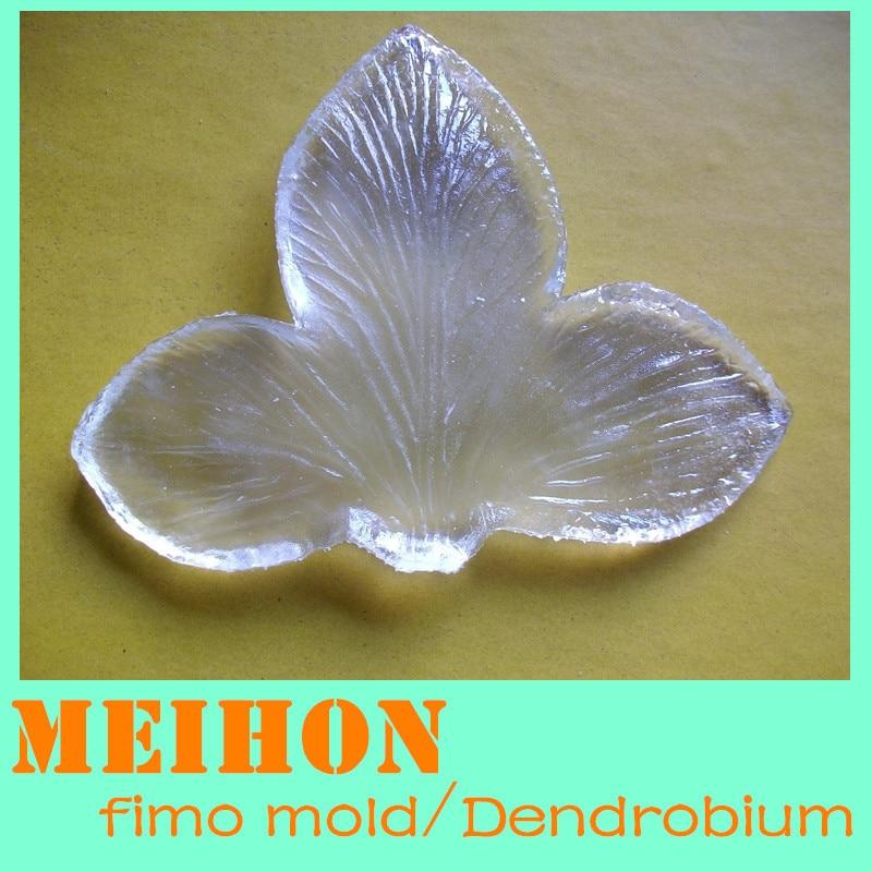 DIY Polymer Clay Schimmel / Harz Schimmel-Dendrobium Blütenblätter Schimmel / Adern Schimmel / Kostenloser Versand / MEIHON / ym