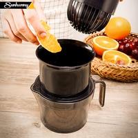 Sunhanny manual espremedor de citrinos para laranja limão mão espremedor limão limão imprensa frutas 100% original suco para a vida saudável da criança|Espremedor de fruta manual| |  -