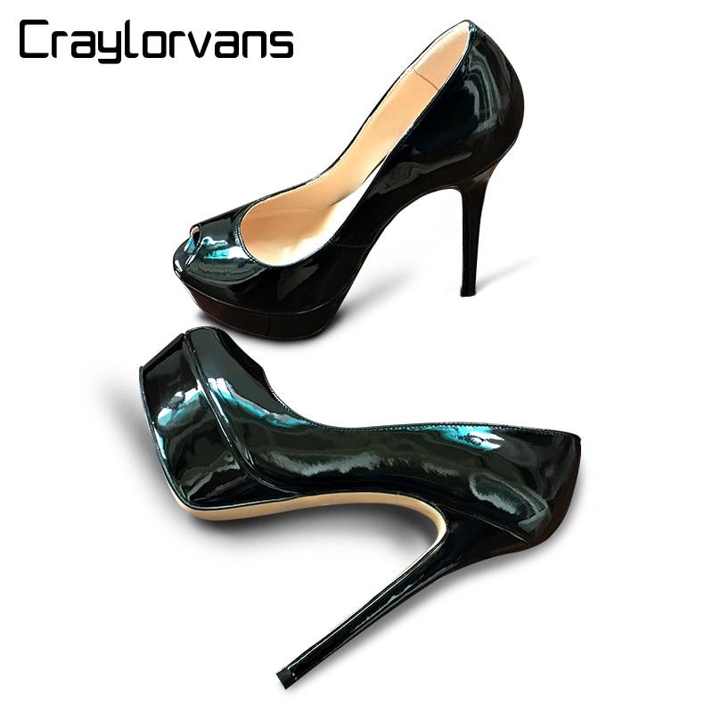craylorvans top quality big size 33 46 platform women high. Black Bedroom Furniture Sets. Home Design Ideas