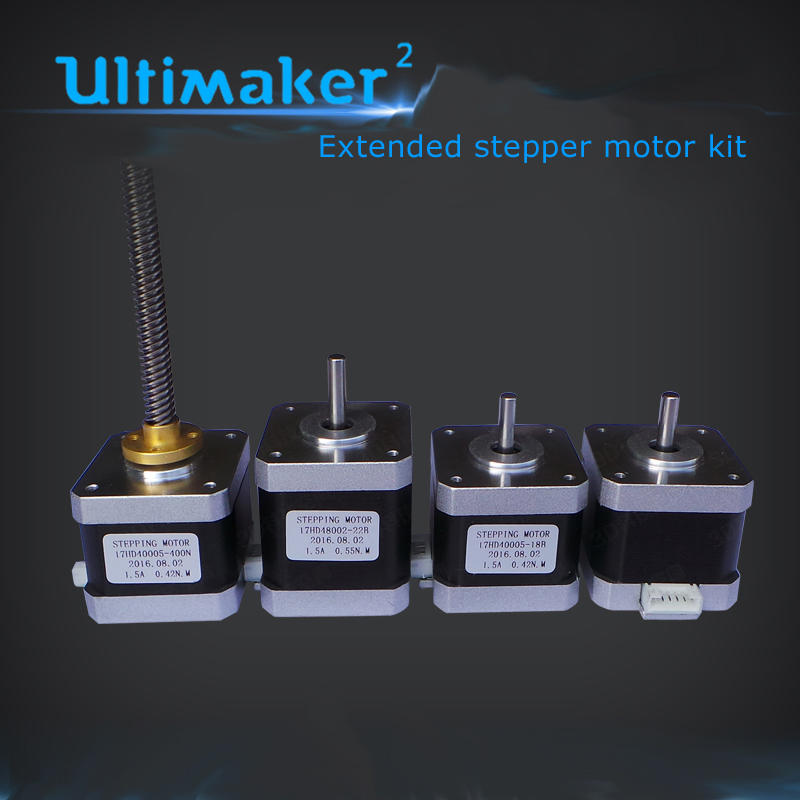 3D printer UM2+ Ultimaker2+ Extended stepper motor kit include X Y -axis  motors  Z-axis 42 screw linear stepper motor
