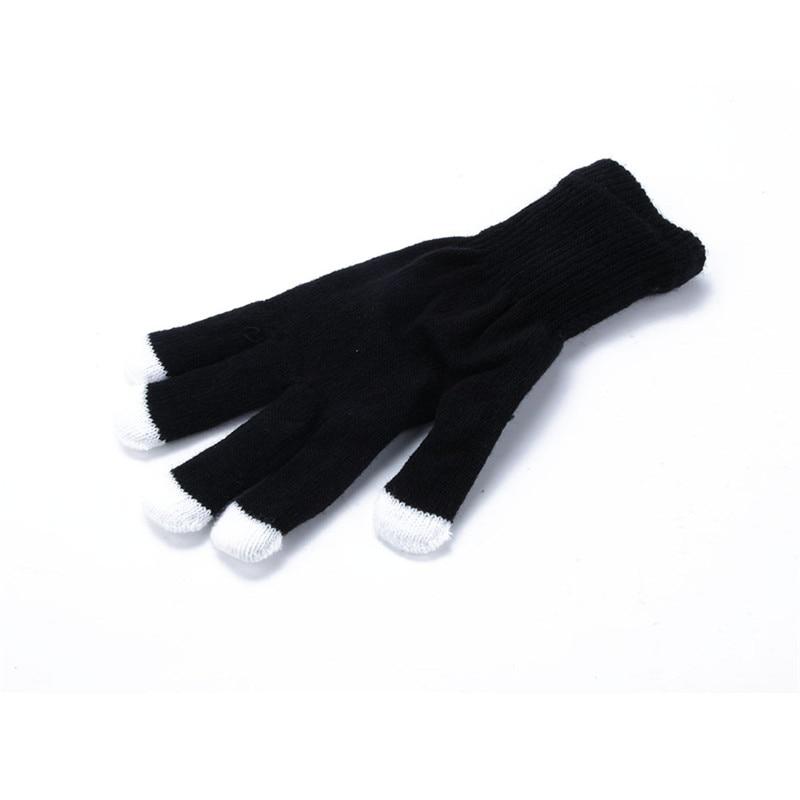 Apparel Accessories Fingertip Led Gloves Rainbow Flash Women Light Glow Stick Gloves Mittens Bc67