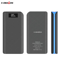 X DRAGON Portable Power Bank 20000mAh Triple USB LCD External Battery Phone Charger For IPhone 4s