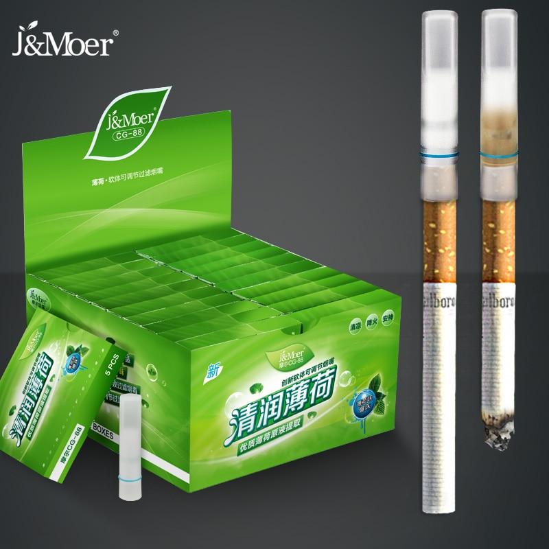 110 Menthol Flavored Cigarette Holder Filter Disposable Soft Cigar Tobacco Tar Filter Reducing Cigarette Harm To Prevent  CG-88