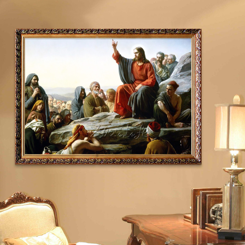 Home Interior Jesus: Aliexpress.com : Buy Home Decor Jesus Christ Painting