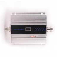1800MHz Mobile Phone DCS Signal Booster 4G DCS 1800MHz Signal Repeater , Cell Phone DCS signal Amplifier + Power Adapter
