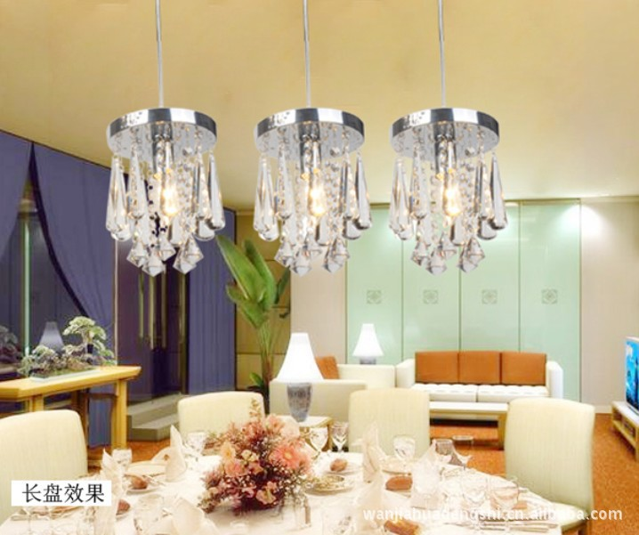 Manufacturers wholesale corridor study of the sitting room the bedroom restaurant crystal lamp/modern crystal chandelier dish simple american full copper chandelier fashion contemporary and contracted sitting room the bedroom lamp study restaurant lamps
