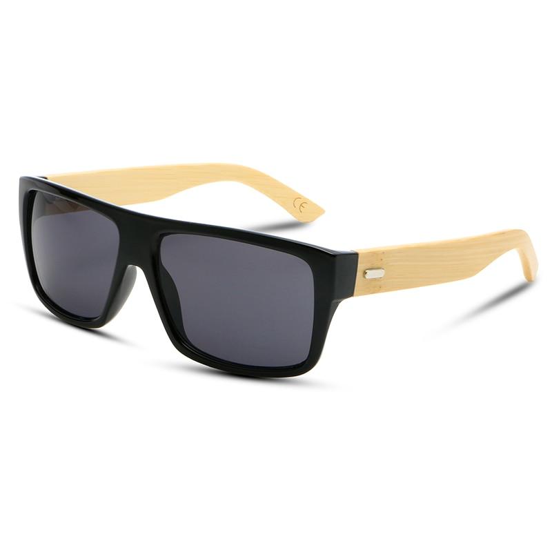 2017 New Bamboo Sunglasses Men Wooden Sun glasses Women Brand Designer Mirror Original Wood Glasses Oculos de sol masculino