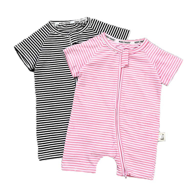 b18f5e2bc Baby Rompers Summer Baby Girl Clothing Cotton Baby Boy Clothes ...