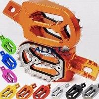 For KTM 525 SMR 525SMR 180CC 150CC 125CC 120CC 100CC 144CC 105CC 110CC 320CC 520CC CNC Footpegs Dirt Bike Foot Pegs Rests pedal