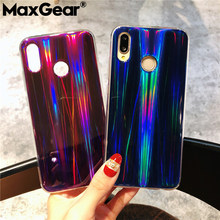 MaxGear Mirror Case on for Huawei P9 P10 P20 Lite Phone Cases P8 Lite 2017 Laser Soft TPU Back Cover for Huawei P20 Pro Coque(China)