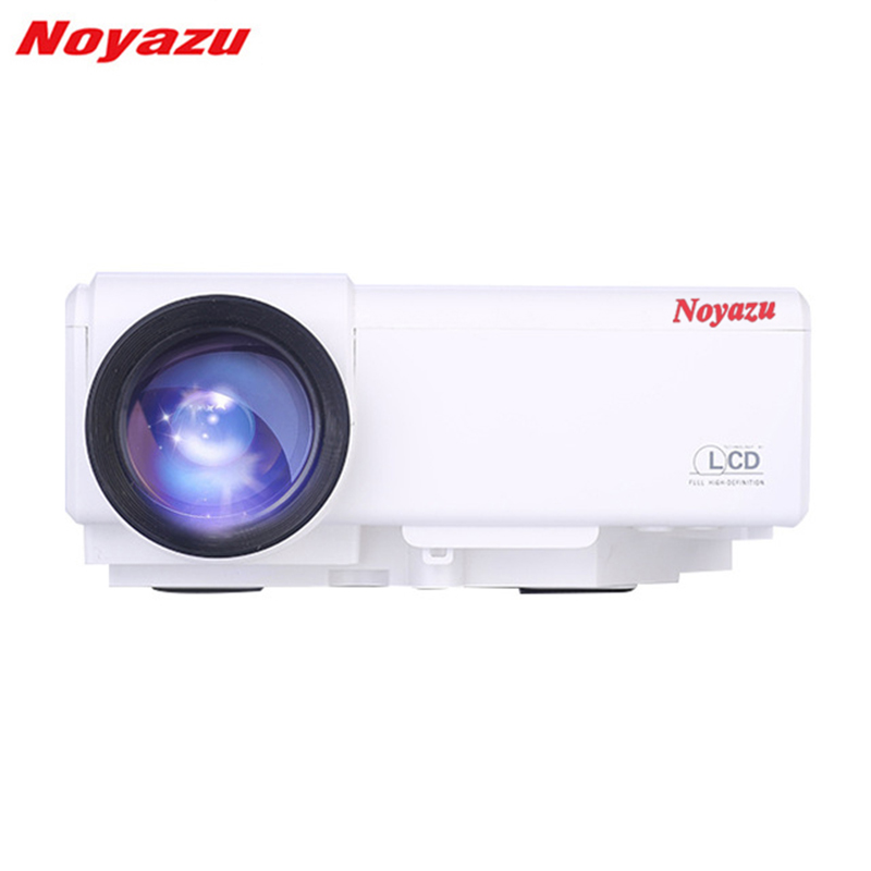 Noyazu 800 Lumens LCD Projector Portable LED Projector Home Theater TV HDMI Cinema Beamer Entertainment Movie