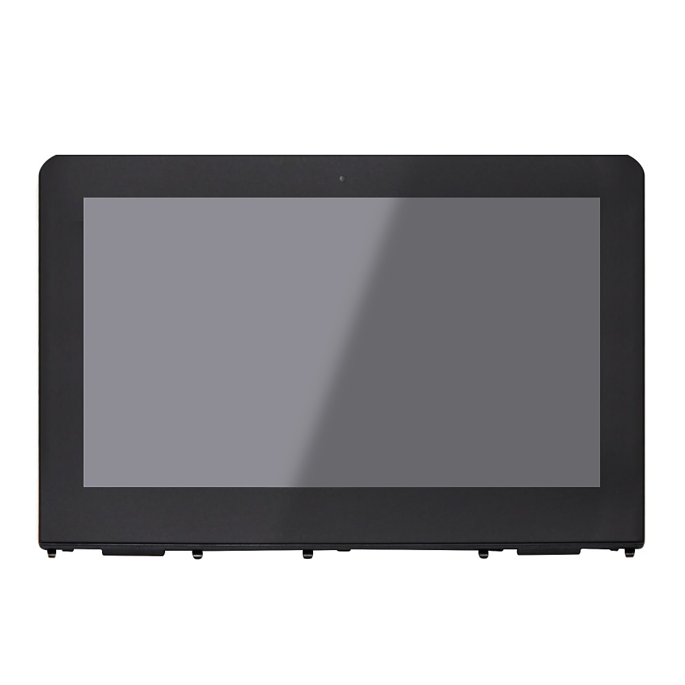 LCD Screen Touch Digitizer Assembly+Frame+ ControlBoard For HP Stream x360 11-ab series 11-ab014tu 11-ab047TU 11-ab015TU недорго, оригинальная цена