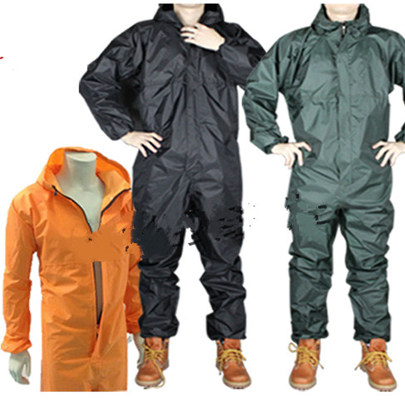 1PCS Waterproof Windproof Conjoined Raincoats Overalls Electric Motorcycle Fashion Raincoat Men And Women Rain Suit Rainwear high quality waterproof windproof motorcycle jackets suit raincoat safe reflective campera motociclista impermeable motociclista
