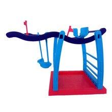 Interactive Finger Monkey Playset Baby Finger Monkey Jungle Gym Baby Fidget Monkey Climbing Stand Platform XD210 jungle gym toy set climbing stand platform for monkey