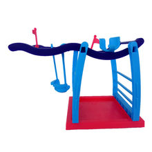 Interactive Finger Monkey Playset Baby Finger Monkey Jungle Gym Baby Fidget Monkey Climbing Stand Platform XD210(China)