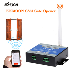 GSM Gate Opener Relay Switch Remote On/Off Switch Access Control Wireless Door Opener By Free Call SMS 850/900/1800MHz RTU5024