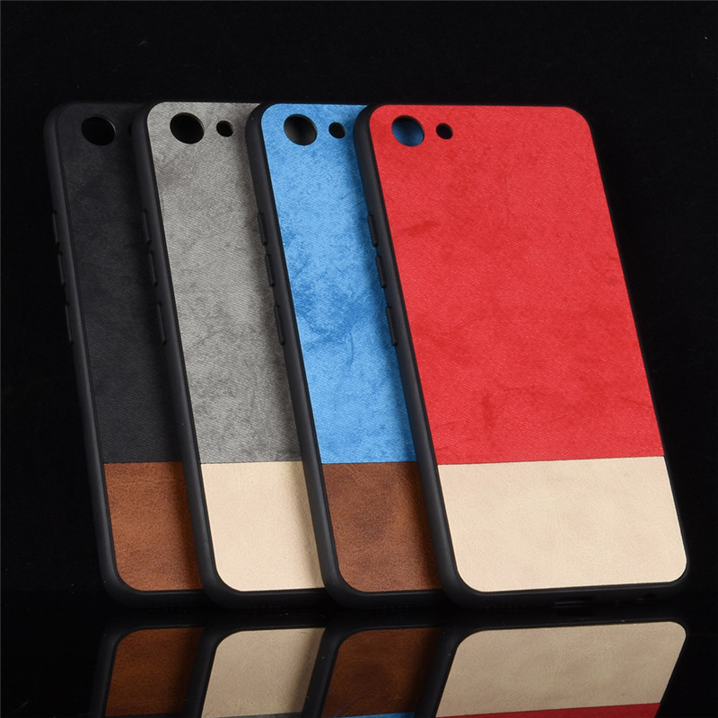 For VIVO Y81 Case VIVO Y81 case Two colors PC+TPU Luxury leather back shell cover case For VIVO Y81 Y 81 VIVOY81 coque
