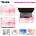 For MacBook Air 11 13 Pro 13 15 Retina 12 13 15 inch Skin Computer Stickers Cover for Macbook Protective Skin+Keyboard Cover