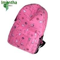 New Retro Youth Backpacks School Bags For Teenagers Girls Sport Back Bag Book Bag Backpacks Mochila