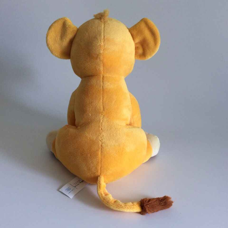 Новинка 26 см Хорошее качество милые сидящие высокого Симба Король Лев Плюшевые игрушки Simba мягкие животные куклы для детей Подарки