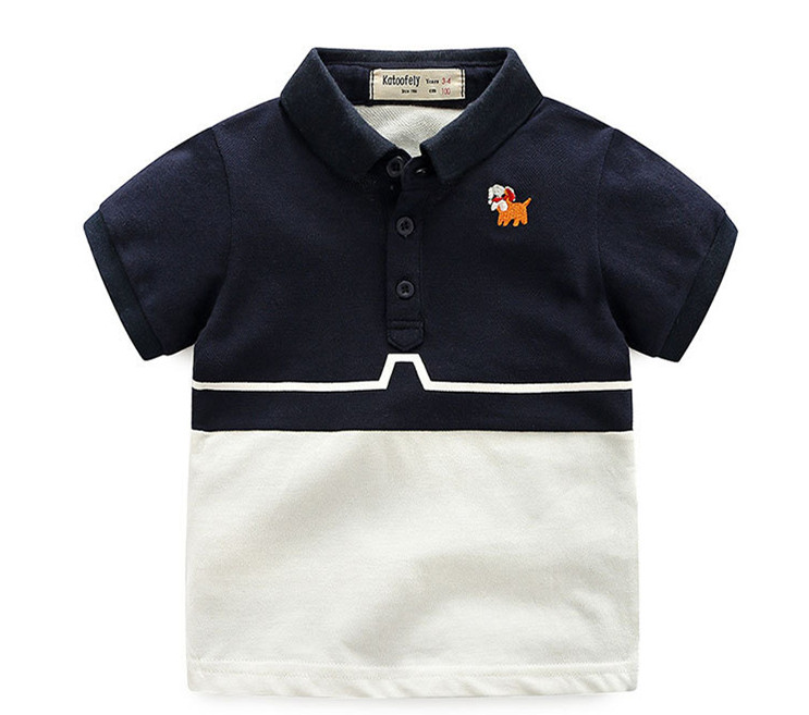 aaec0cce9 Kids 2018 Hot Sale Shirt Embroidery Spliced Baby Boy Clothes Fashion School  Babys Summer Short Sleeves Polo Shirt For Boys on Aliexpress.com | Alibaba  Group