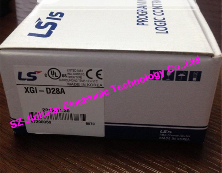 100% New and original  XGI-D28A   LS(LG)   PLC  XGK series Input module   28ns/step 100% new and original g6l eufb ls lg plc communication module e net open type fiber optic