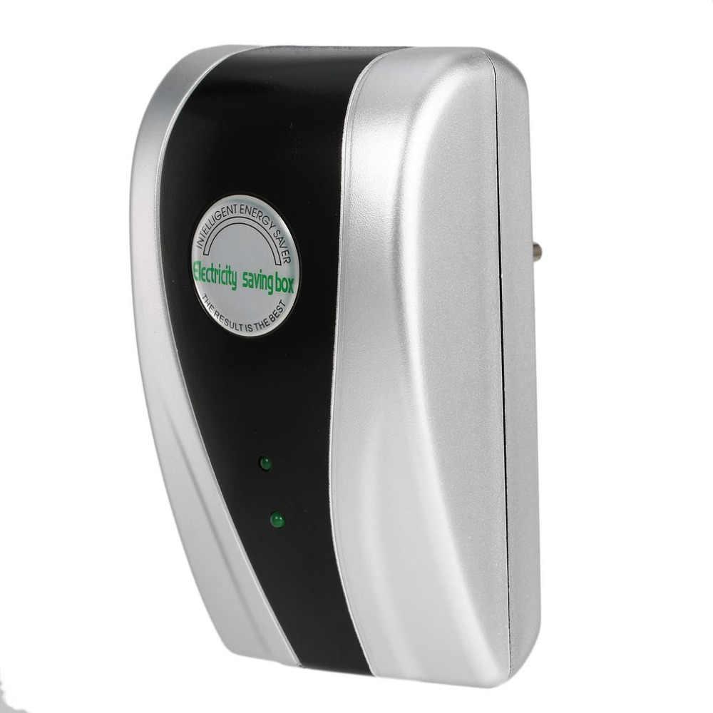 1Pc Energy Saver 90 V-240 V Nuovo Tipo di Alimentazione di Energia Elettrica Scatola di Risparmio ahorrador de corriente EU/ US/UK Spina di trasporto di Goccia