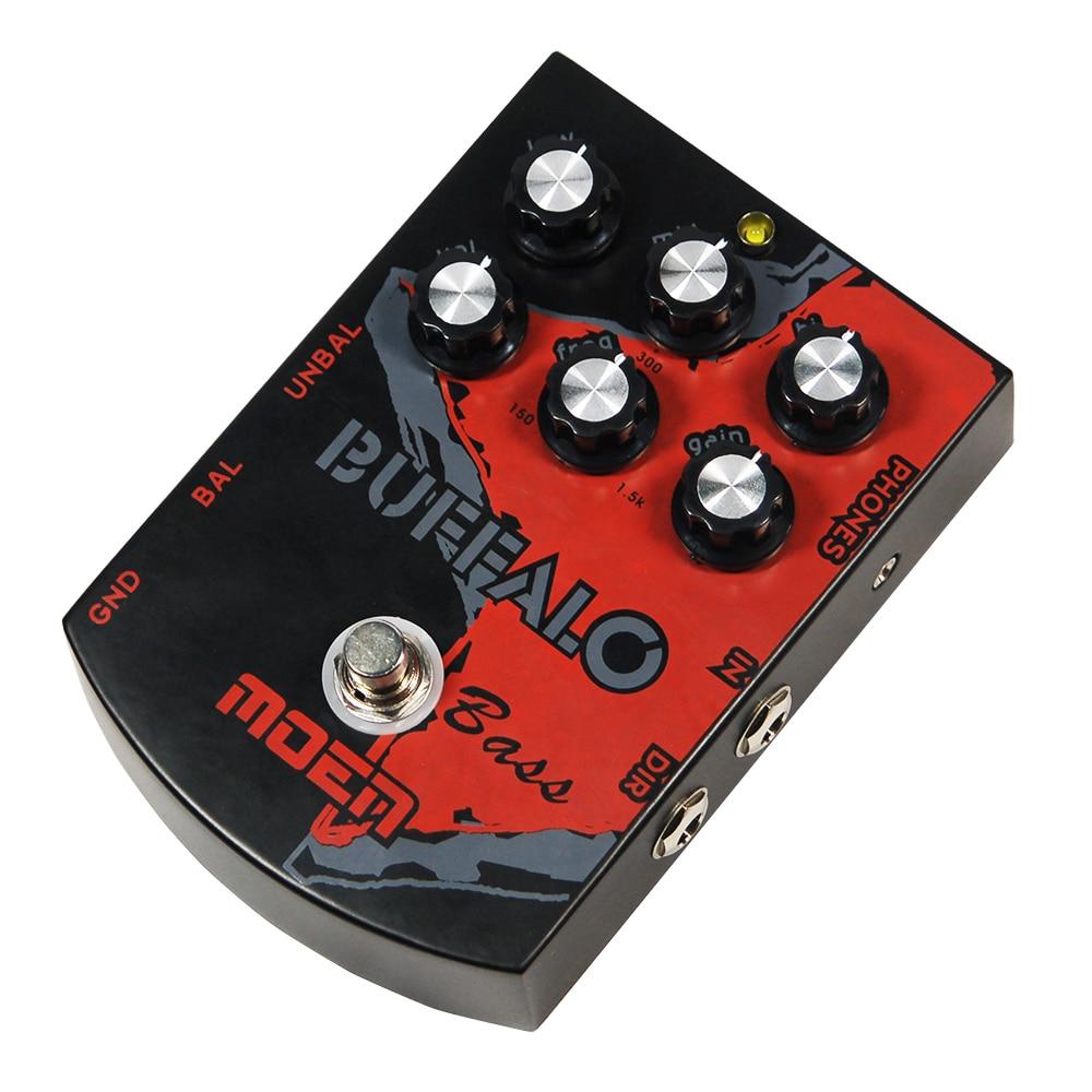 Подробнее о Moen Buffalo Bass Effect Pedal Bass Guitar Effects True Bypass BS-BA moen reverb effect pedal hall spring room mode electric guitar effects am rv true bypass