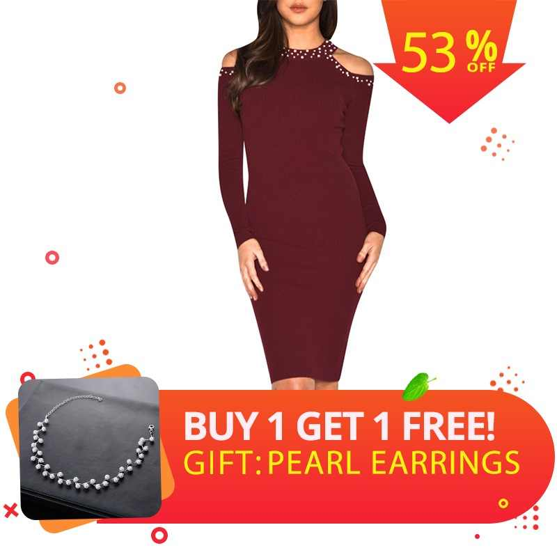 3362ac9eb9f01 Detail Feedback Questions about Simplee Sexy bodycon cold shoulder ...