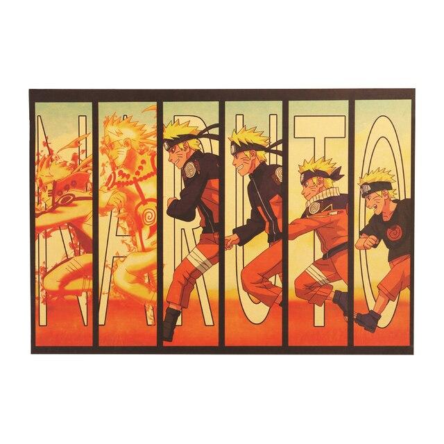 Naruto Vintage Poster Wall Sticker