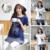 2017 nuevo verano de manga corta de algodón superior de enfermería lactancia materna tops t shirts clothing camisetas impresión de la historieta ocasional para la alimentación
