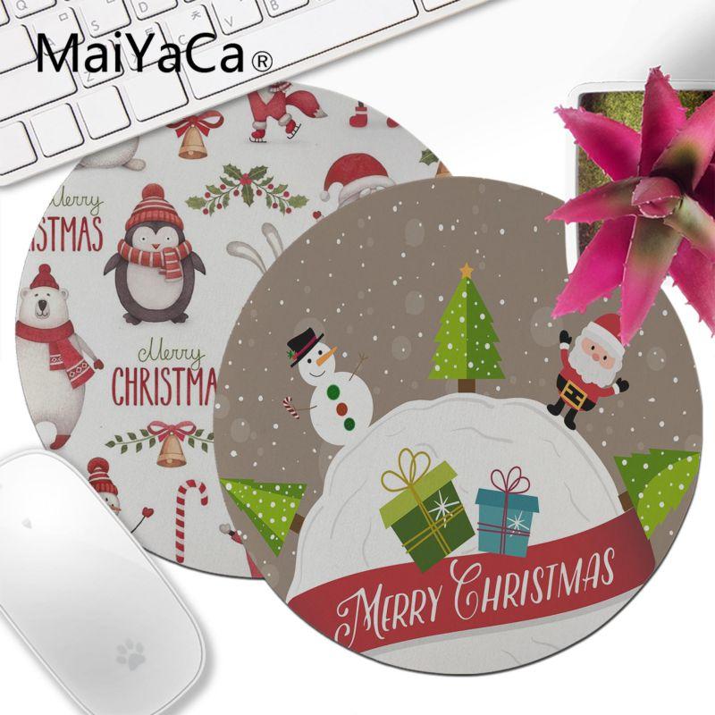 MaiYaCa Cute Christmas Background DIY Design Pattern Game Round ...