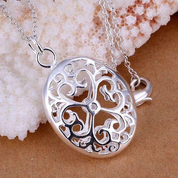 P038_2 vente chaude argent plaqué bijoux, prix de gros usine 925 argent mode pendentif en trois dimensions oeuf/aoqajfx