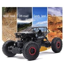 Rc Car 1.3KG 4CH 4WD Rock Crawlers 4×4 Driving Car Double Motors Drive Bigfoot Car Remote Control Car Model Off-Road Vehicle Toy