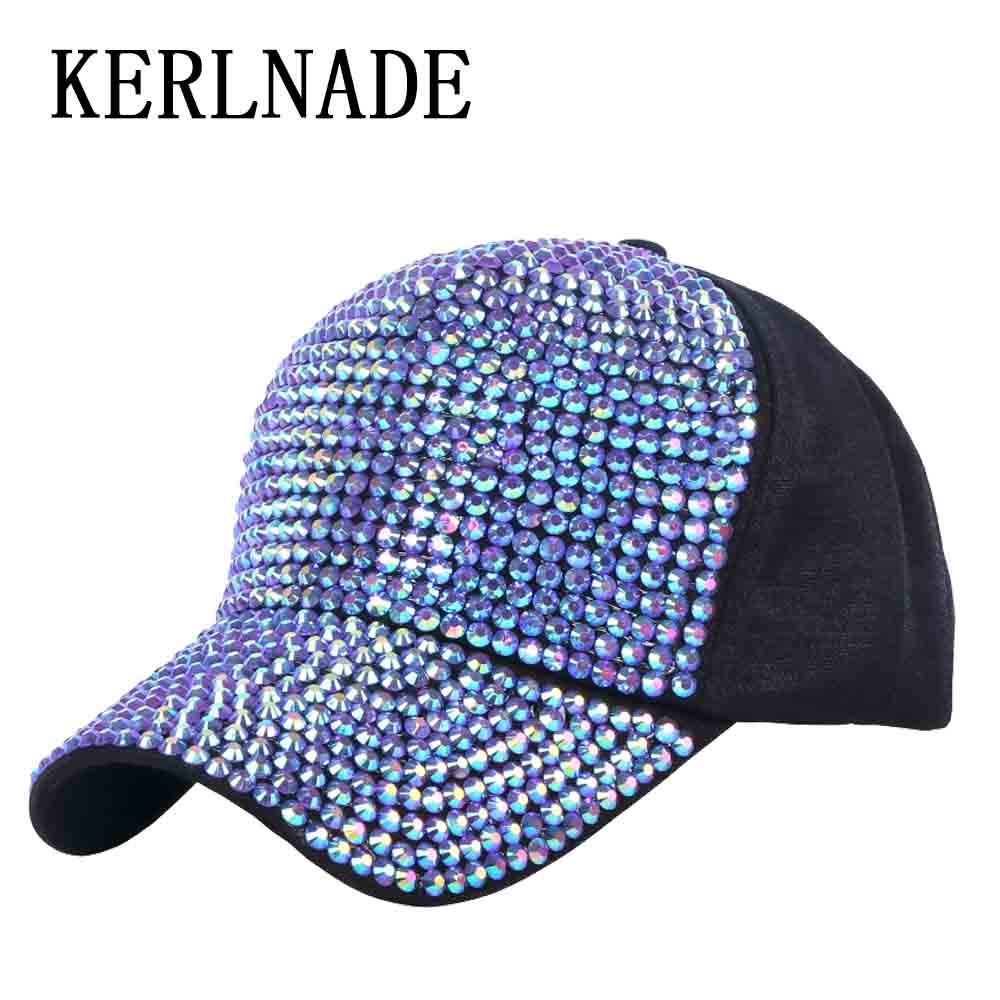 women luxury cap new casual hats with bling rhinestone beads handmade  produced expensive style female girl fashion baseball caps 4507d68c082
