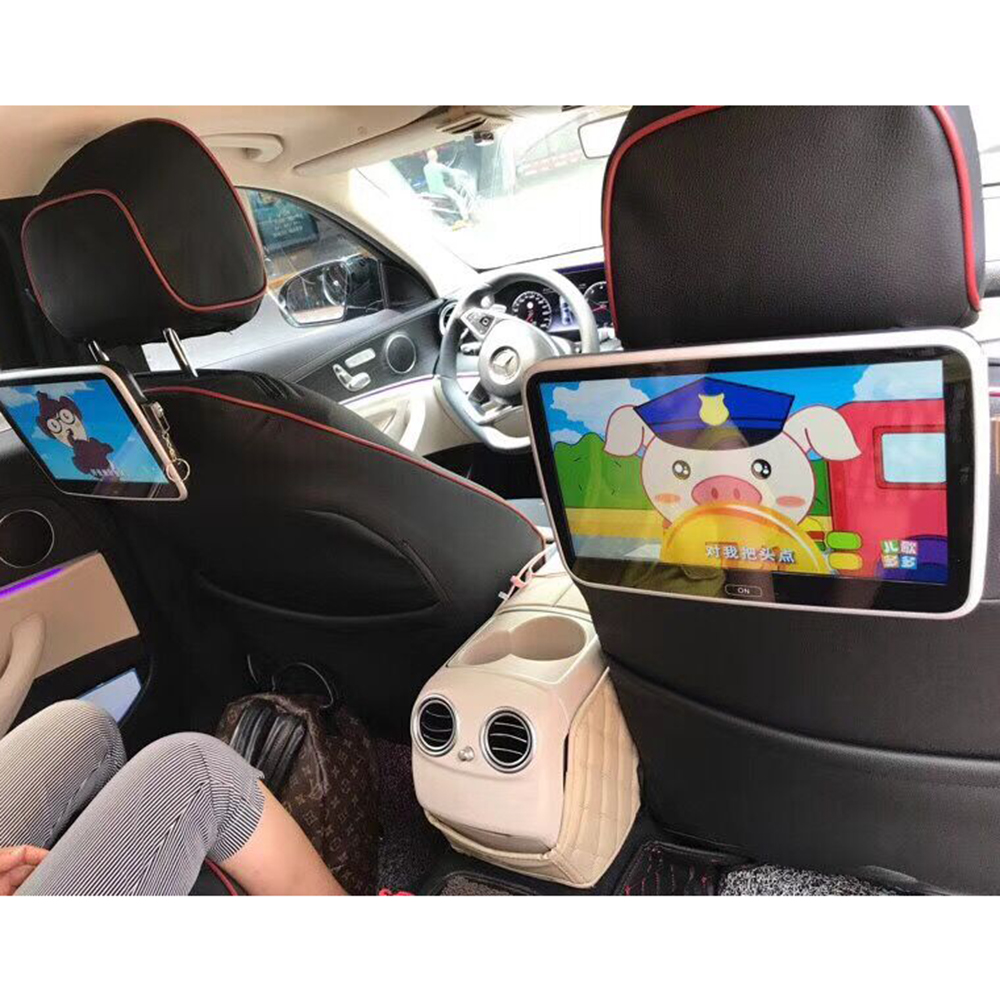 dedicated movable plug in car rear seat tv screen android. Black Bedroom Furniture Sets. Home Design Ideas