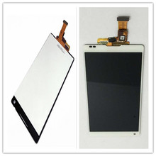 white For Sony Xperia ZL L35h C6503 New White Full LCD Display Screen Panel + Touch Screen Digitizer Glass Assembl цена в Москве и Питере