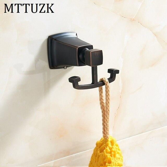 Mttuzk Olie Bubbed Brons Chroom Kleding Haken Keuken Haken Woonkamer