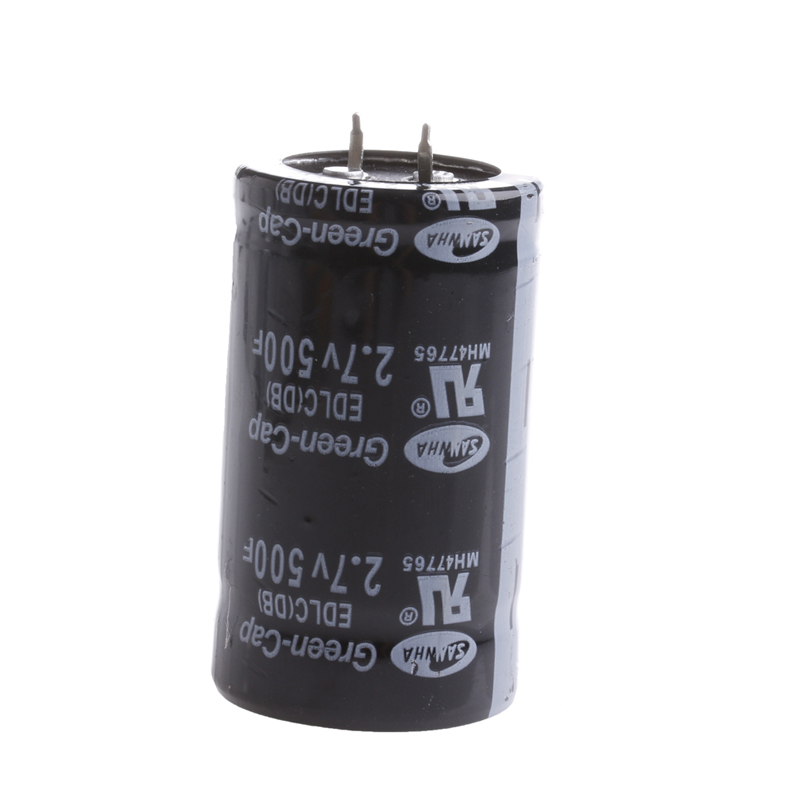 OOTDTY 1PC Farad Capacitor 2.7V 500F 35*60MM Super Electric Capacitor ootdty 1pc rsg 100atc 0 32% brix