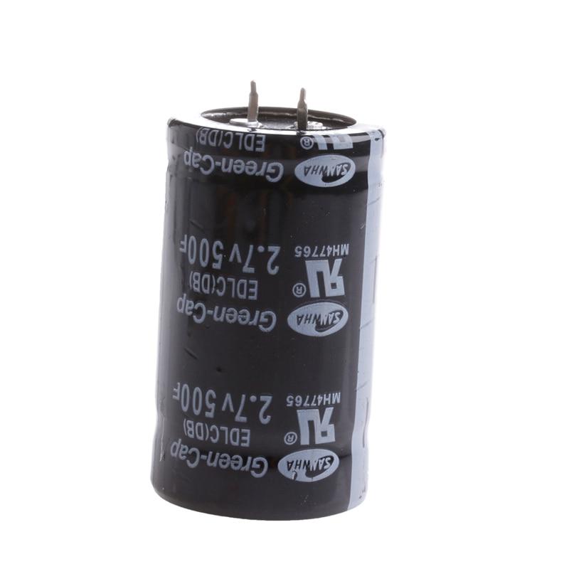 все цены на OOTDTY 1PC Farad Capacitor 2.7V 500F 35*60MM Super Electric Capacitor онлайн