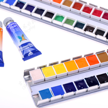 Italian Maimerbiu watercolor paint 24color 2ml lattice distribution Meri blue Humming bird packaging easy to dissolve