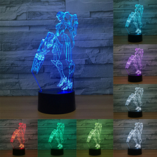 Overwatch 3D Desk Lamp 7 Color Changing Night Light Led