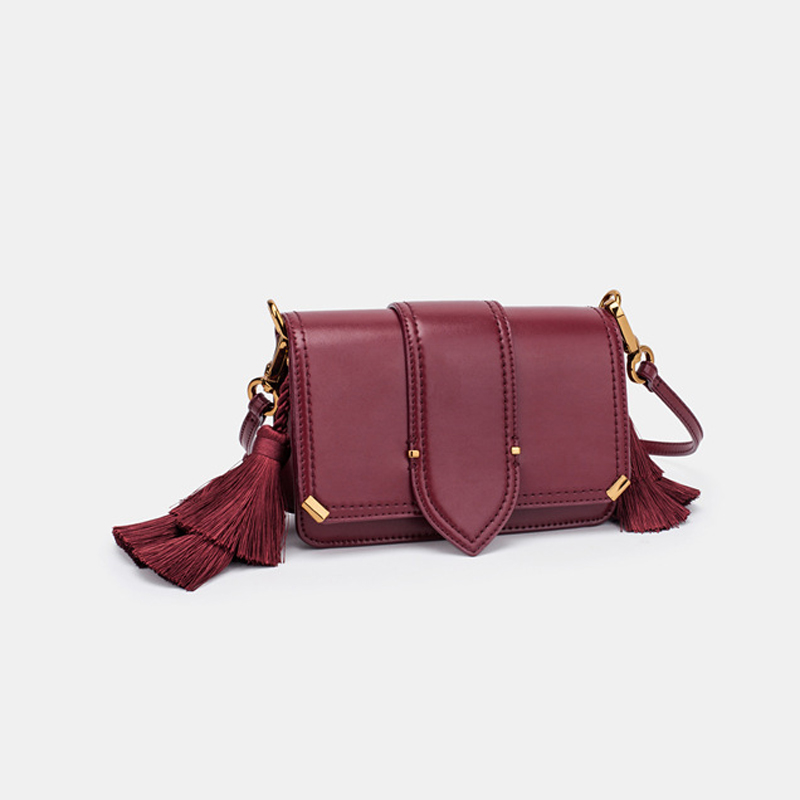 Women Bag Messenger-Bags Crossbody-Bag Designer Fashion-Brand Fringe