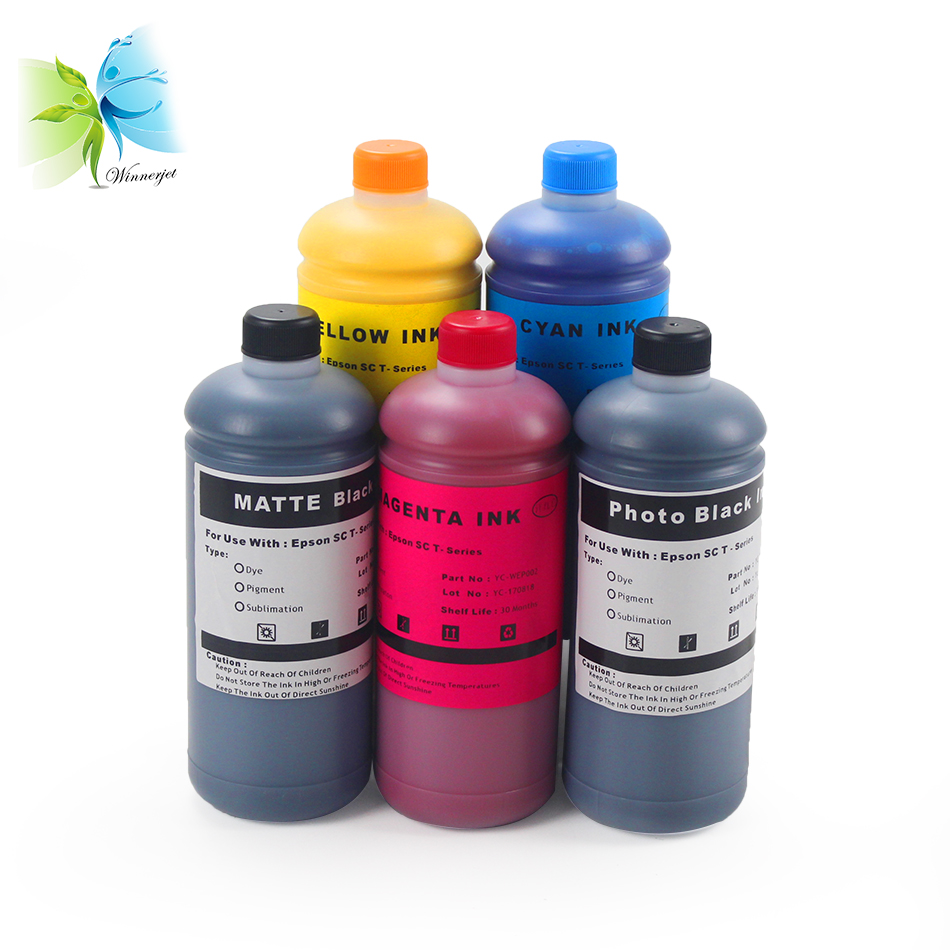 Winnerjet compatible for Ultrachrome XD pigment ink for Epson SureColor SC T3200 SC T5200 SC T7200 T3200 T5200 T7200 bulk ink in Ink Refill Kits from Computer Office