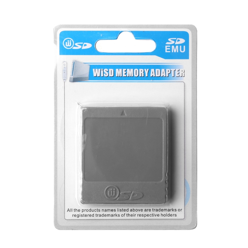 SD Memory Flash Card Card Reader Converter Adapter For Nintendo Wii NGC Console