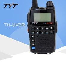 Rádio portátil do varredor da frequência ultraelevada do walkie talkie de 10 km woki toki do rádio bidirecional de tyt uv3r