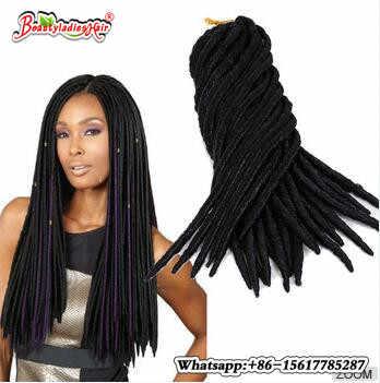 3 шт./лот искусственные густые косички черный/# 1B/#2/#4/#27/#30 синтетические волосы искусственные дредоки плетение волос для наращивания мягкие Dread замки
