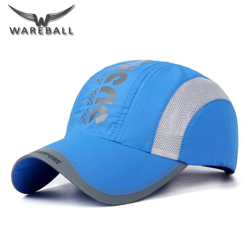 bdd28068 [WAREBALL] 2017 Snapback Summer Baseball Cap Men Breathable Quick Drying  Mesh Hats Women Sunshade Hats-in Baseball Caps from Apparel Accessories on  ...