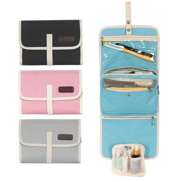 b1f47672fffe Smelov Women Travel organizer large Capacity Cosmetic Bag Waterproof Make  up bag Men Bathroom Toiletry storage